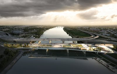 OMA/Jason's Bridge Park Receives NCPC Approval