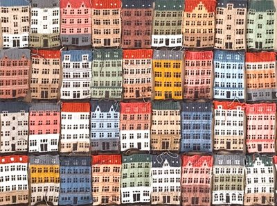 Jake Henzler Knits Colorful Memories of Copenhagen's Architecture