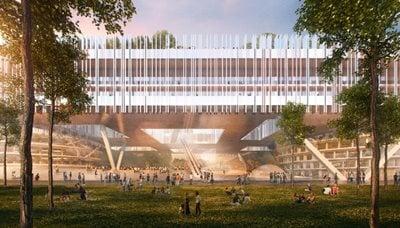 Dominique Perrault Unveils the new Campus for Shenzhen Institute of Design