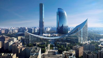 BIG - Bjarke Ingels Group for the new gateway to CityLife
