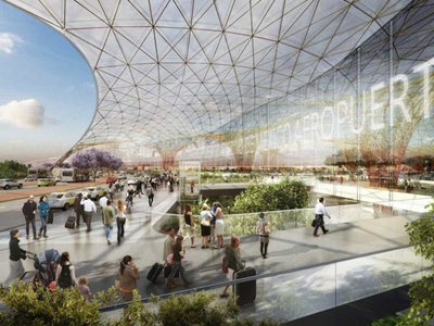 Foster + Partners and FR-EE Fernando Romero for the new Mexico International Airport