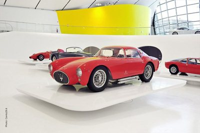 The new Enzo Ferrari museum in Modena opens to the public