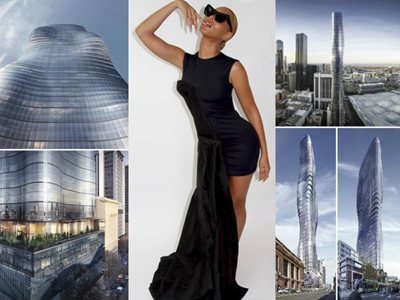 Beyoncé-Inspired Tower Allegedly 'Woke Up Like This'