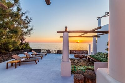 Dolce and Gabbana's Seafront Villa is for Sale