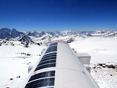 LEAPrus 3912: the world's highest placed eco-hotel