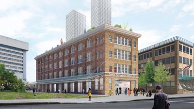 OMA to design the first American Pompidou Center offshoot in Jersey City