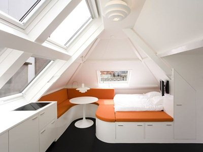 The Maff Apartment by Queeste Architecten in the Hague