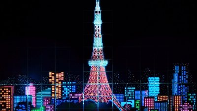 A special Christmas gift from Tokyo to Paris!