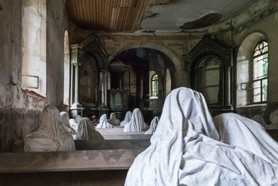 How ghosts brought back life to a little Czech church