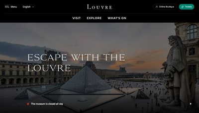The Louvre's stunning cultural heritage is all now just a click away!