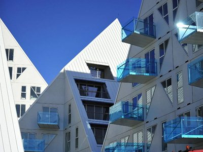 Aarhus: Iceberg residential complex almost complete