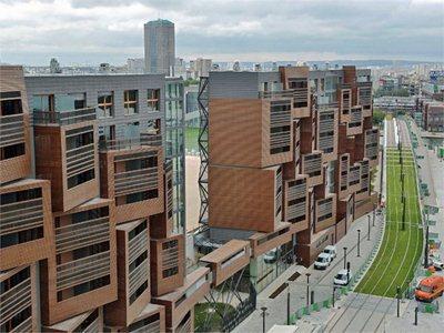 OFIS Arhitekti's Basket Apartments in Paris
