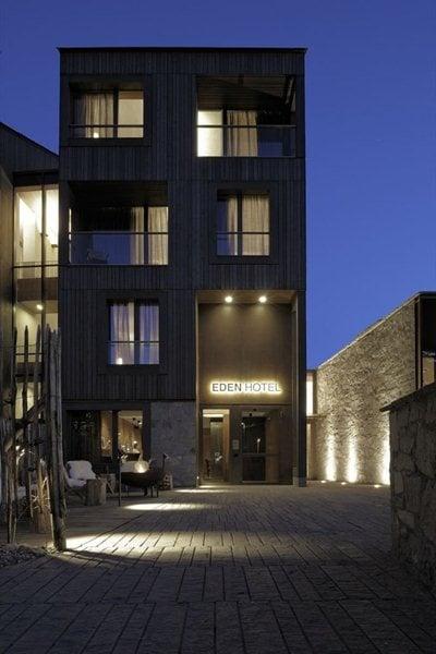 Citterio&Partners design Eden Hotel in Bormio, Italy