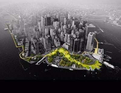 Bjarke Ingels' Dryline Aims To Protect and Enrich New York City's Waterfront Areas