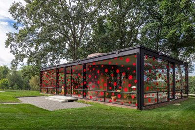 Are you obsessed with dots? Don't miss last Yayoi Kusama installation!