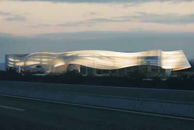 MAD Reveals Design for 2024 Paris Olympics' Aquatic Center