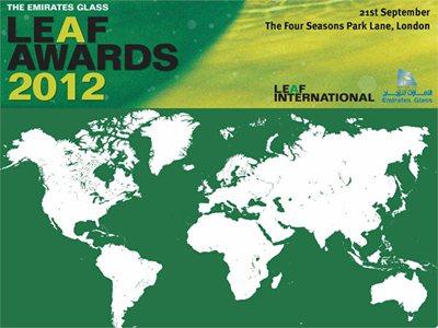 Leaf Awards 2012: Sou Fujimoto overall winner