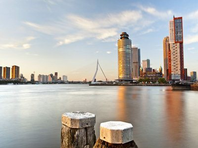 """De Rotterdam the new """"vertical city"""" on the banks of the Maas"""