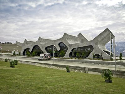 Georgia: a service station designed by J. Mayer
