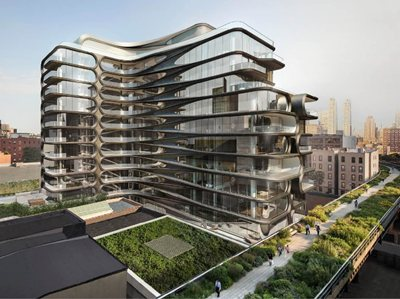 Buy an Apartment in Zaha Hadid's First NYC Building
