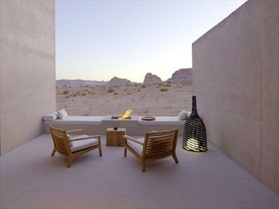 Amangiri Resort: the luxury hotel in the American canyons