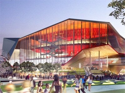 HASSELL + Populous win SCEEP design project