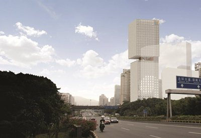 OMA has won the design competition for the Essence Financial Building in Shenzhen