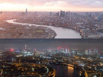 24 Hours Of London's Skyline