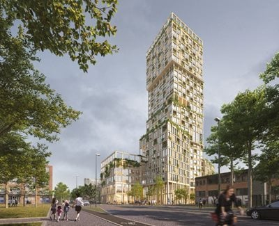 Mad Arkitekter to Design Germany's Tallest Wooden House