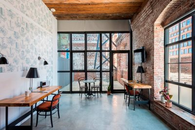 """Industrious and Wythe Hotel Offer """"On-Demand Workspaces"""""""
