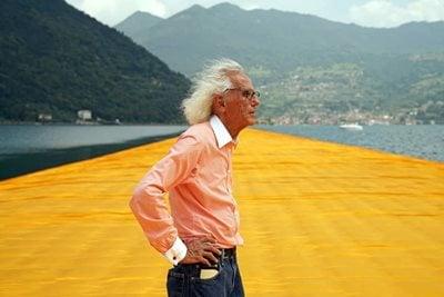 The Bulgarian-born Artist Christo Dies at 84