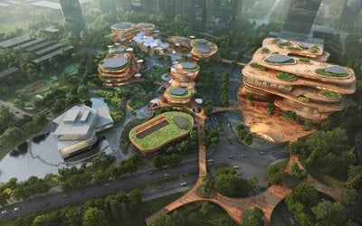 MVRDV's Shenzhen Terraces begins construction