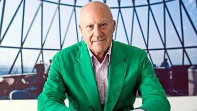At the age of 82 Norman Foster has still something to say... on Instagram!
