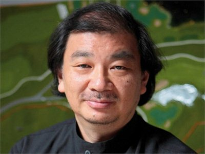The master of lightweight architecture Shigeru Ban at Cersaie 2012