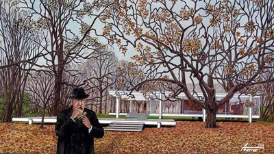 The Life of Mies van der Rohe Becomes a Graphic Novel