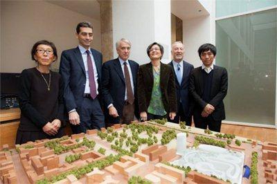 Sanaa architects' new Bocconi university campus in Milan