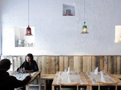 28-seat restaurant in Milan by Francesco Faccin