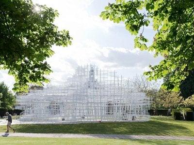 Sou Fujimoto's Serpentine Gallery Pavilion opens in London