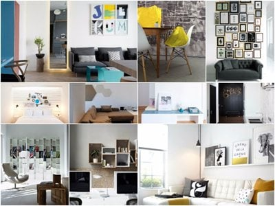 10 tips for decorating a bare wall
