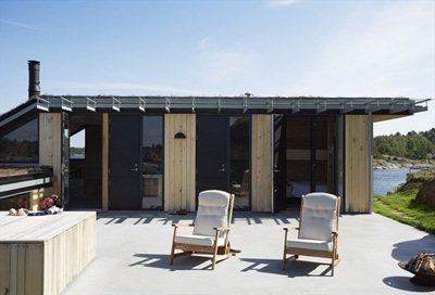 Filter Architects' zero maintenance summerhouse