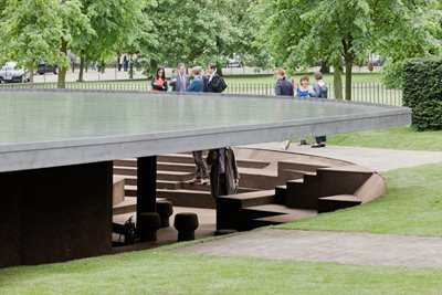 Serpentine Gallery Pavilion 2012 Opens Today
