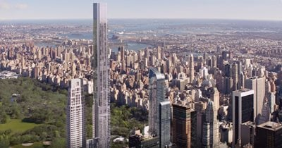 Central Park Tower becomes the Tallest Residential Building in the World