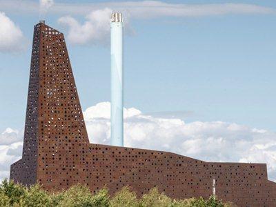 Erick van Egeraat's Incineration Line in Roskilde officially inaugurated