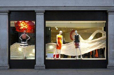 London: architecture meets fashion in Regent street
