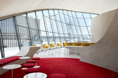 Eero Saarinen's JFK Airport Reopens as Luxury Hotel
