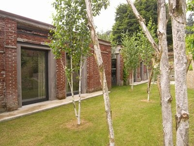 Davide Volpe's re-emerging house in Biella Italy