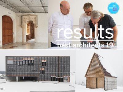 Twelve «best architects 19 in gold»