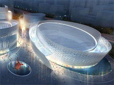 Studio Fuksas design the new cultural centre in Chengdu
