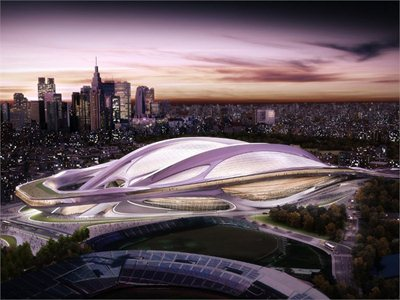 New National Stadium of Japan: Zaha Hadid is the winner!