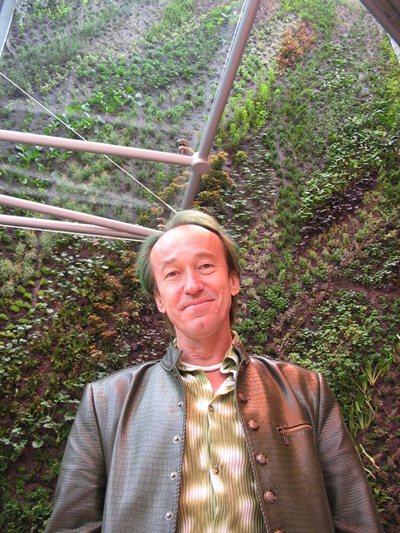 Patrick Blanc et la Caixa Forum de Madrid